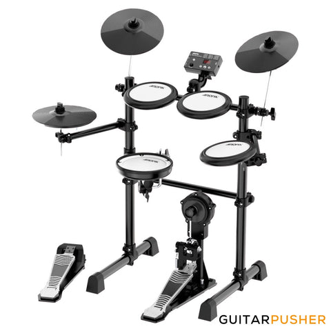 Aroma TDX-16S All-Mesh 5+3 Electronic Drums with Dual Zone Snare and Cymbals