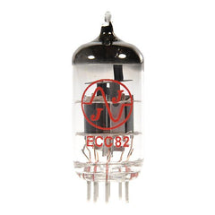 JJ Electronics 12AU7/ECC82 Vacuum Tube for Electric Guitar Amplifier - GuitarPusher