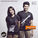 Guitar Pusher Couple Shirt