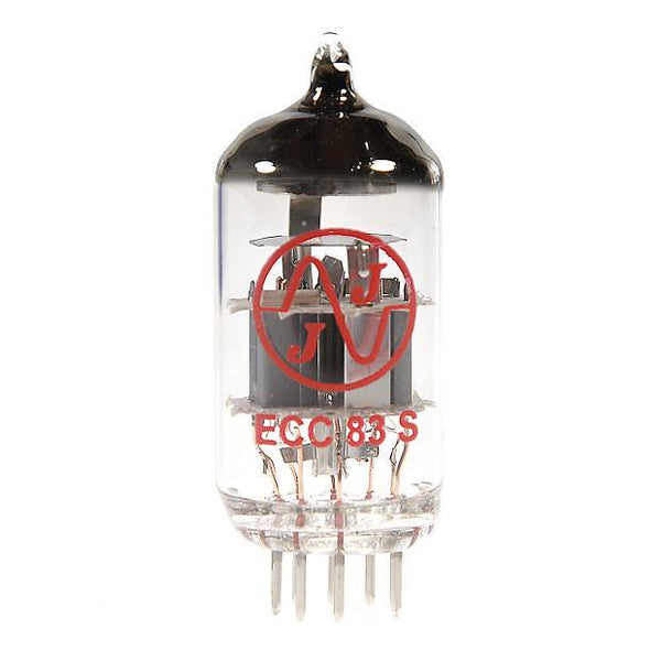 JJ Electronics 12AX7/ECC83 Vacuum Tube for Electric Guitar Amplifier