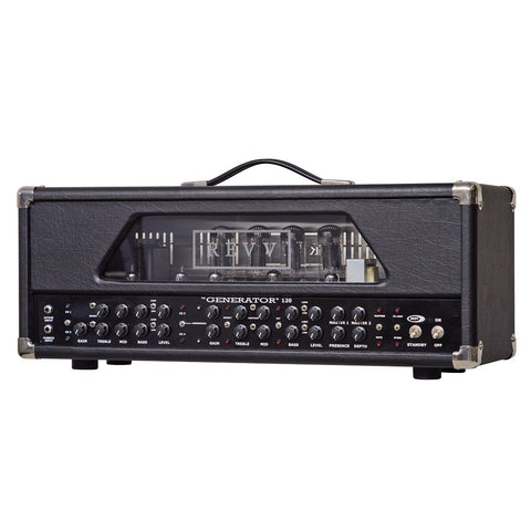 REVV Generator 120 120/10-watt 6L6GC 4-Channel All-Tube Amplifier Head - GuitarPusher