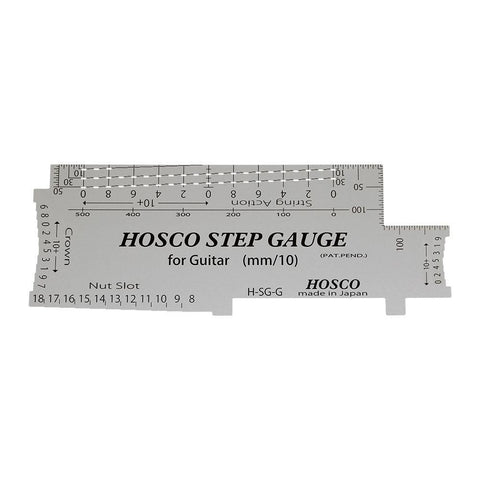 Hosco H-SG-G Step Gauge for Guitar - GuitarPusher