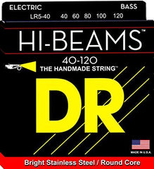 DR Hi-Beams Hand Made 5-String Bass Guitar Strings - GuitarPusher