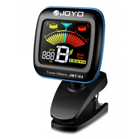 Joyo JMT-03 Clip-on Tuner/Metronome with Color Display - GuitarPusher
