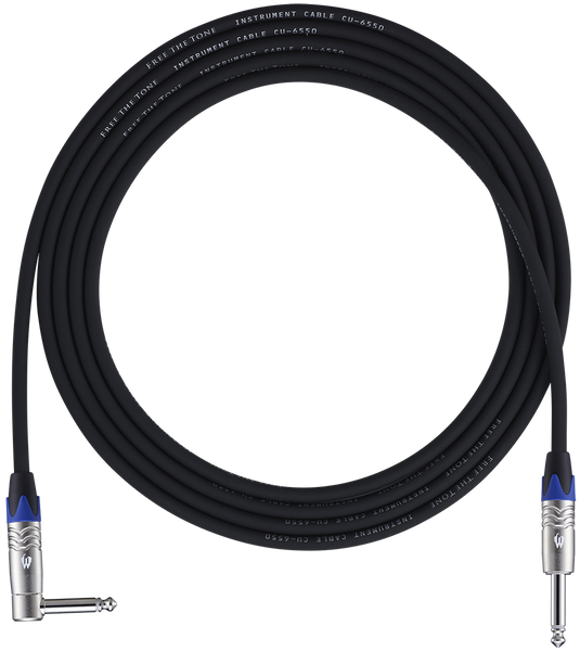 Free The Tone CU-6550 Low Capacitance Instrument Cable
