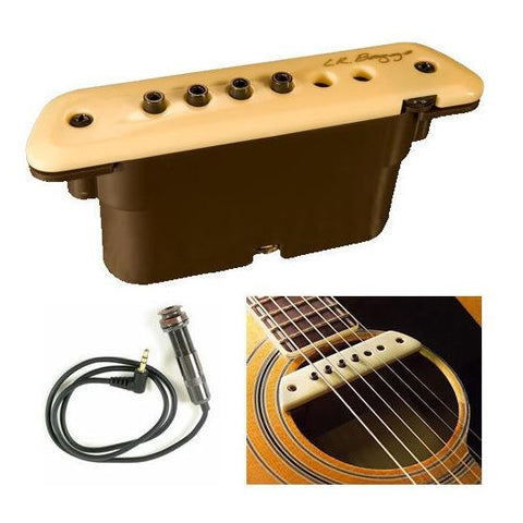 L.R. Baggs M1 Active Acoustic Guitar Soundhole Pickup System - GuitarPusher