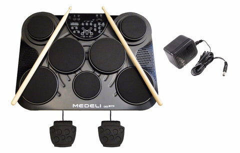 Medeli DD-315 Table Top Portable Electronic Drum Kit