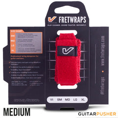 Gruv Gear FretWraps String Muters (1-Pack) HD 'Fire' Red