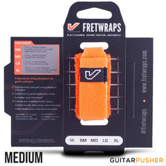 Gruv Gear FretWraps String Muters (1-Pack) HD 'Flare' Orange