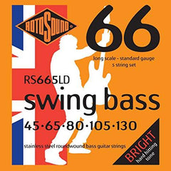 Rotosound Swing Bass 5-string Stainless Steel Bass Guitar - GuitarPusher