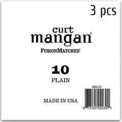 Curt Mangan Plain Ball End Single String for Acoustic & Electric Guitar - GuitarPusher