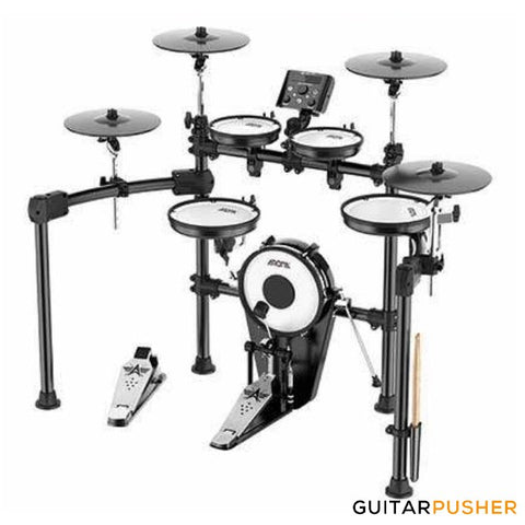 Aroma TDX-25S All-Mesh 5+4 Electronic Drums with Dual Zone Snare and Cymbals