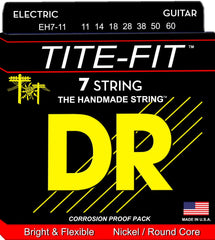 DR Tite-Fit Nickel Electric Guitar Strings 7-strings