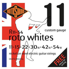 Rotosound Custom Gauge Nickel Electric Guitar String Set - GuitarPusher