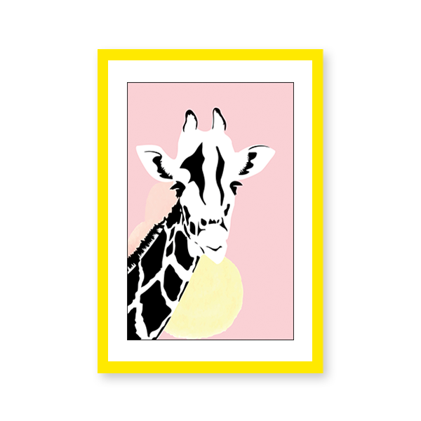 Giraffe Illustration - urban-karigars