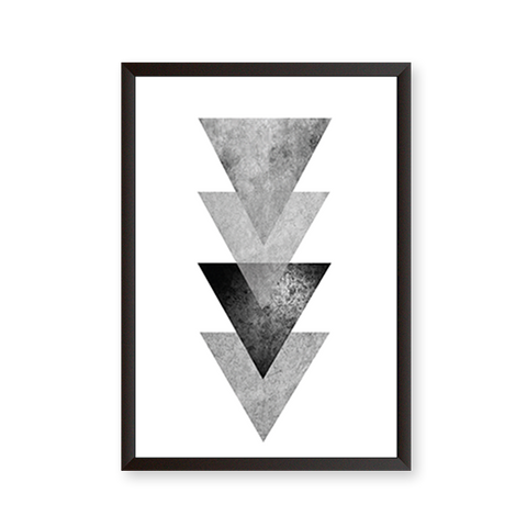 Abstract Graphic Triangle