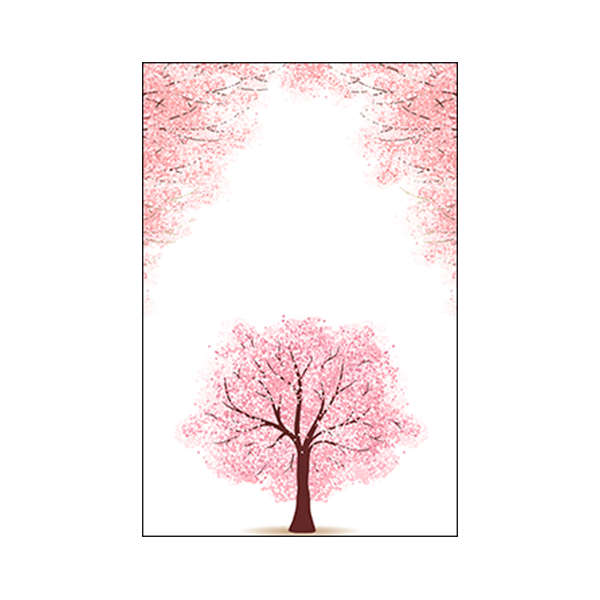 Beautiful Pink Trees #1B