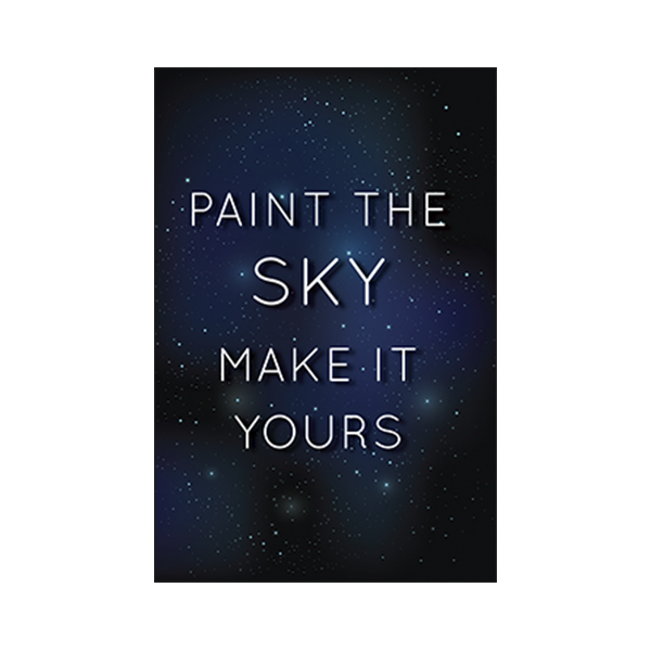 Paint The Sky Make It Yours - urban-karigars