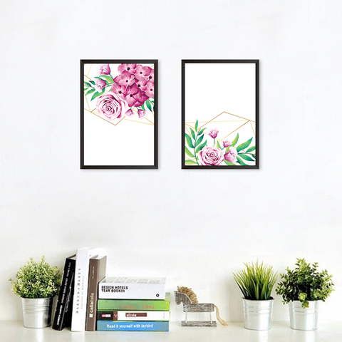 Floral Art - Set of 2 Frames
