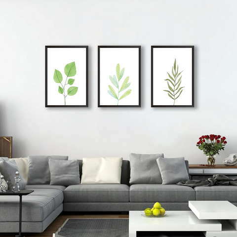 Just Leaves - Set of 3 Frames