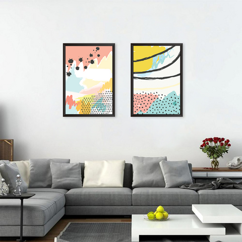 Colorful Abstract - Set of 2 Frames
