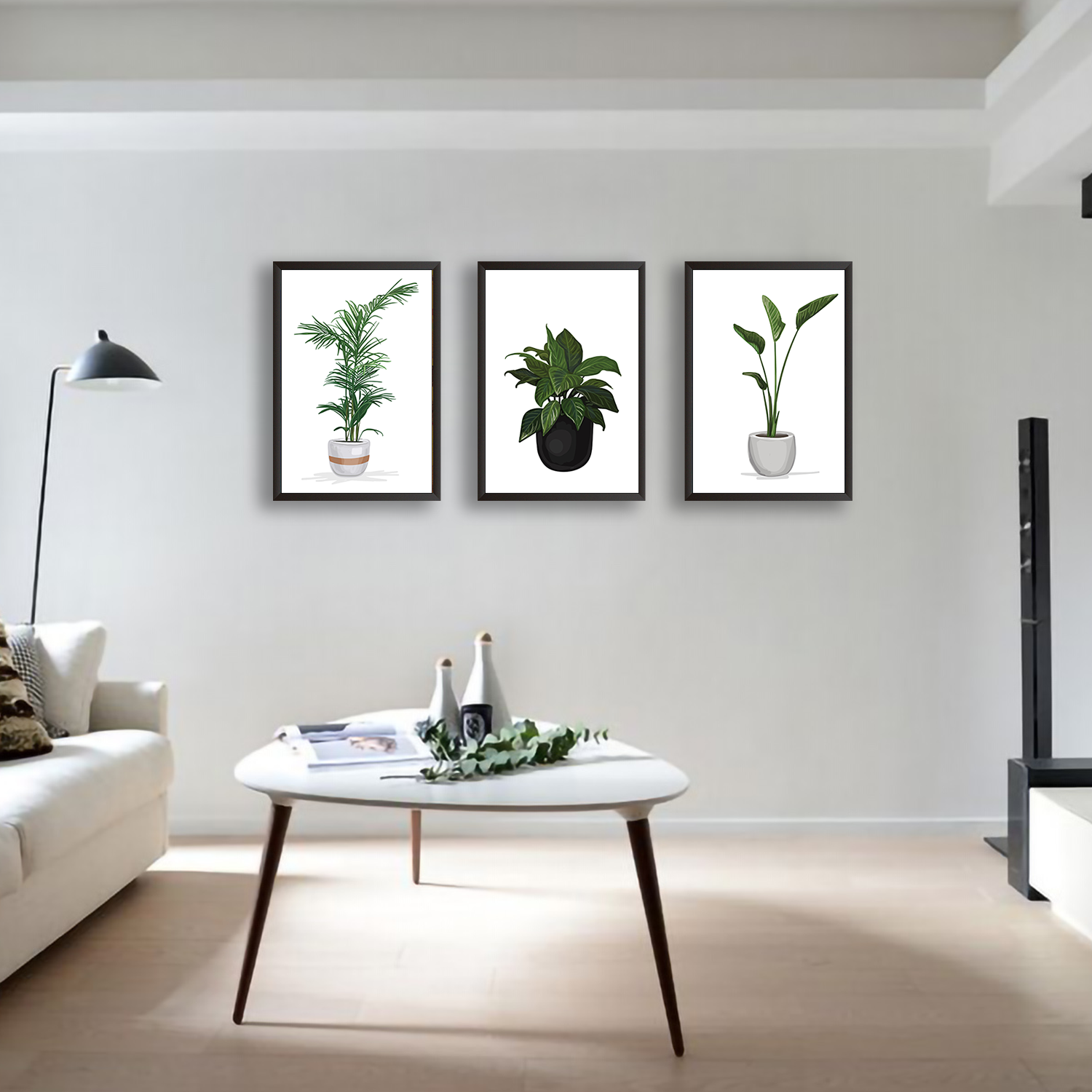 Plant Pots - Set of 3 Frames