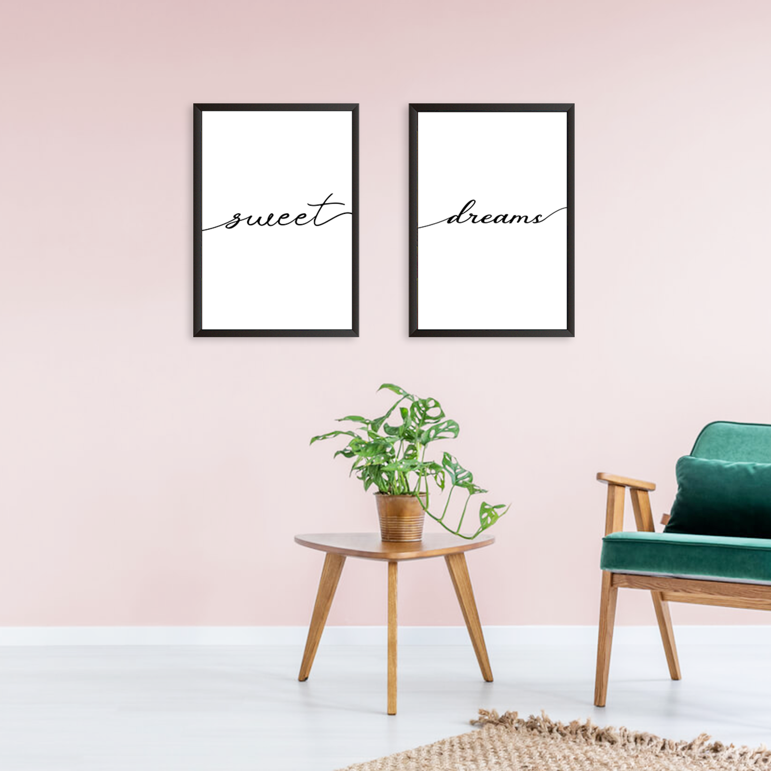 Sweet Dreams - Set of 2 Frames
