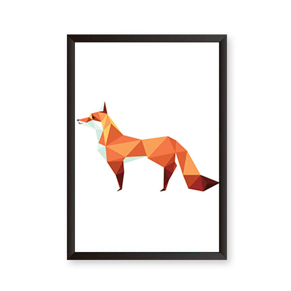 Polygon Art Fox