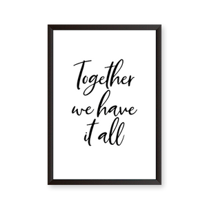 Together Quote - urban-karigars