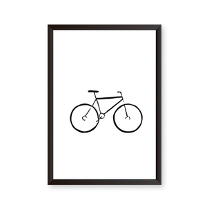 Line Art Bicycle