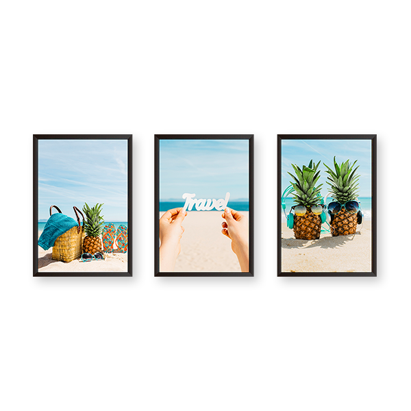 Travel - Set of 3 Frames - urban-karigars