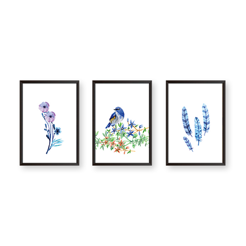 UK#3B - Set of 3 Frames