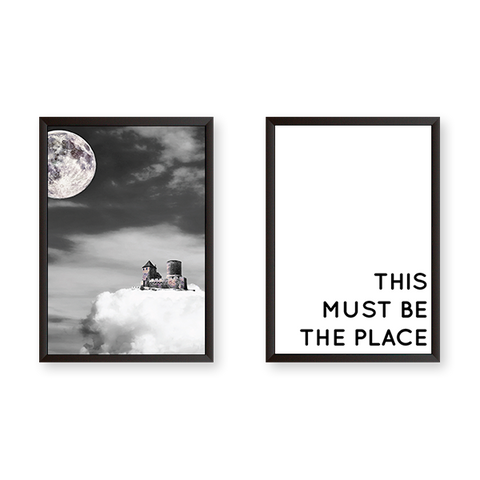 This Must Be The Place Set of 2 Frames