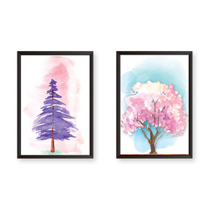 Tree #ALW - Set of 2 Frames