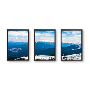 Mountains Art - Set of 3 Frames