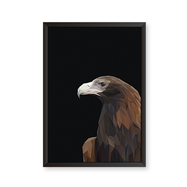 Polygon Eagle Art