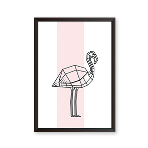 Flamingo Scandinavian Art