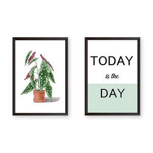 Today Is The Day - Set of 2 Frames