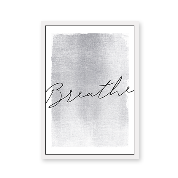 Breathe with Graphic Texture