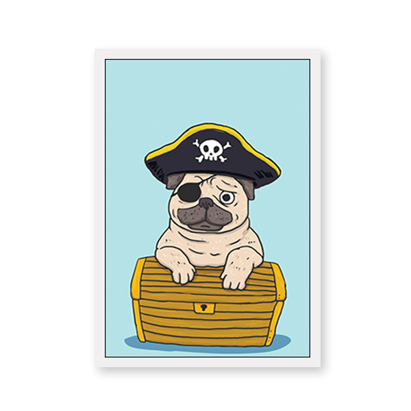 The Pirate Pug