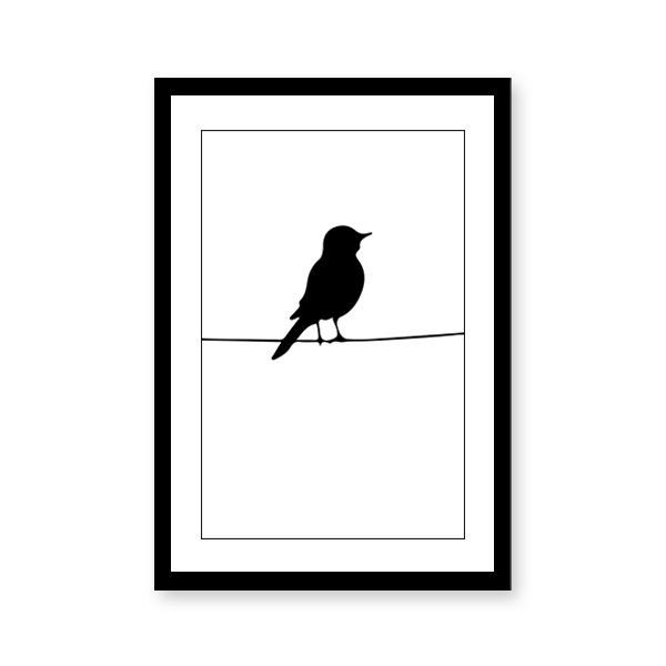 Scandinavian Birds Art #2