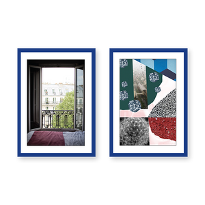 Window with Natural Abstraction Set of 2 Frames