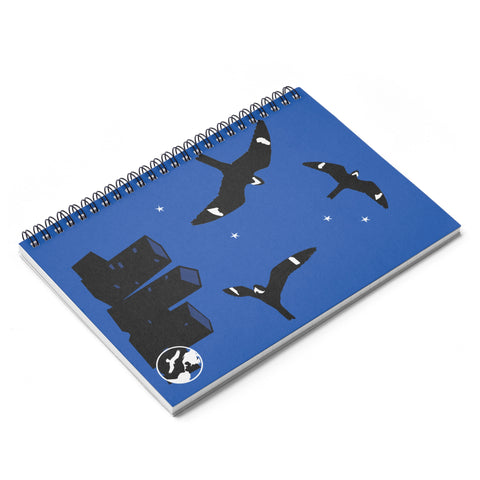 Nighthawks - Spiral Notebook