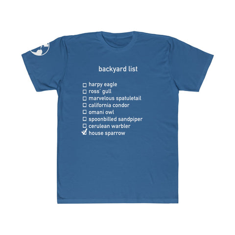 Backyard List - Adult Tee