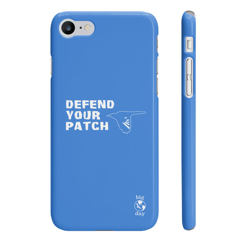 DEFEND YOUR PATCH - iPhone 7 Case