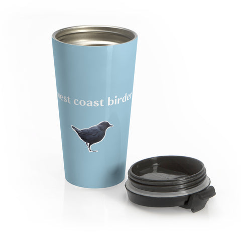 West Coast Birder- Stainless Steel Travel Mug
