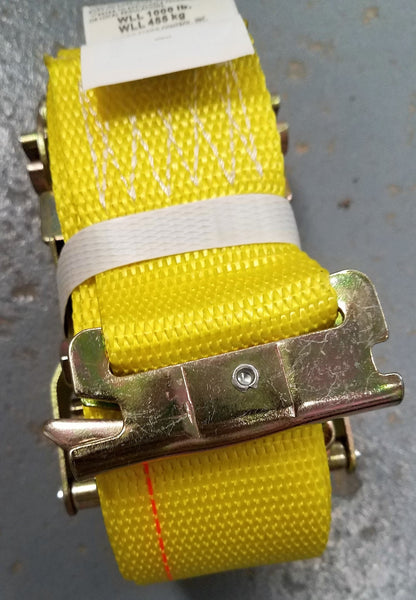 CC2350-12-SE 2IN X 12FT RATCHET STRAP W/ SPRING E FITTING