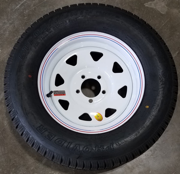 55WS15R6 TIRE & WHEEL COMBO