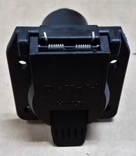 LE12-707E 7-WAY PLASTIC PLUG TRAILER SOCKET