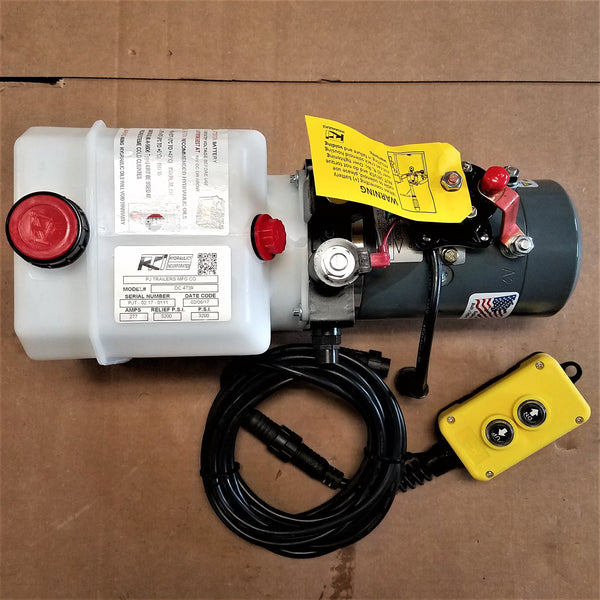 EZ1P ELECTRIC/HYDRAULIC PUMP W/ REMOTE